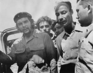 Che Guevara visita a Robert A. Paneque