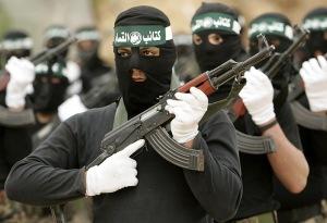 Soldados de Hamás, en Palestina.