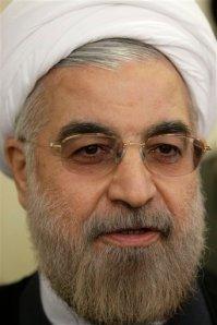Hasán Rouhaní, Presidente de Irán.