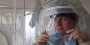 Ebola Virus Preparations At The Royal Free Hospital