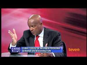 Andrés Alburquerque es uno de los analistas cubanos que participa en las tertulia televisivas sobre Cuba.