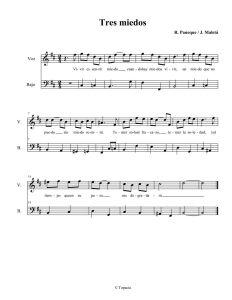 Tres miedos-Partitura-Jorge Maletá