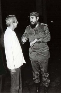 Jorge Enrique Mendoza y Fidel Castro mantuvieron durante decenios un contacto casi diario.
